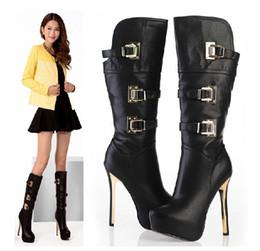 Discount High Heel Boot 14cm | 2017 14cm High Heel Ankle Boot on