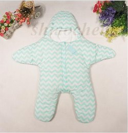 Wholesale Kid Ins Sleep Bags Baby Starfish Sleeping Bag Animal Stroller Blankets Infant Bedding Pajamas Sleepsacks Swaddle Wraps Quilt Robes A1100