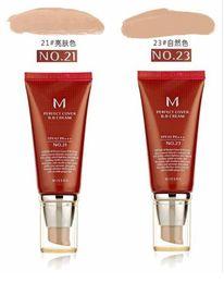 Wholesale vente chaude mondial Nouveau maquillage M Parfait Cover BB Cream SPF42 BB CC Crèmes