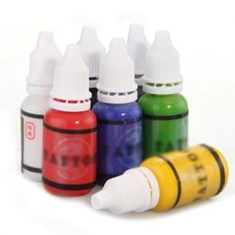 Wholesale UESH Color Tattoo Ink Pigment Supplies Set ml oz Makeup tattoo supplies