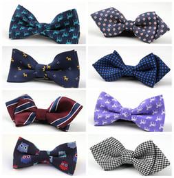 Wholesale 2016 NEW Children Baby Boys Color Imitation Silk Formal Tuxedo necktie Bow Tie Kids Printed Christmas gifts Wedding Necktie