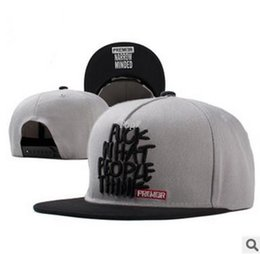 Wholesale 2016 brand fuck what people think embroidery bone snapback premier narrow minded baseball cap adjustable flat hat for women men