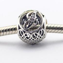 Pandora Alphabet Charm J Silver