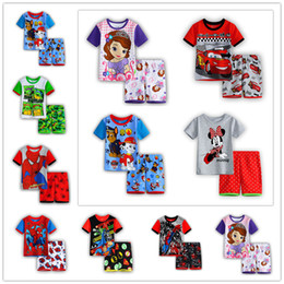 Wholesale Summer kids clothes sets boy t shirt pants suit clothing set Clothes newborn sport suits baby boy clothes children girls clothes
