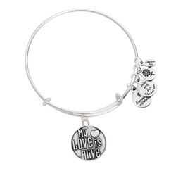 Discount alex ani 2016 New my love is alive alex and ani charm bracelet bangles cheap wholesale fast shipping
