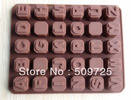 discount alphabet letter molds silicone alphabets letter chocolate molds jelly ice mold cake moulds bakeware