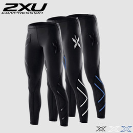 Wholesale 2XU Women Compression Tights Pants Black Blue Sport Trousers Jogging Breathable Superelastic Joggers Trousers For women Leggins