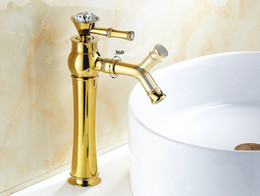Discount Chrome Gold Bathroom Faucets 2017 Chrome Gold Bathroom Faucets On Sale At