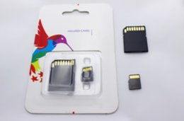 NUEVO 2016 DHL MICROSD NUEVA CLASE 10 MICRO 32GB 64GB 128GB SD TARJETA DE MEMORIA FLASH DEL MICRO TF
