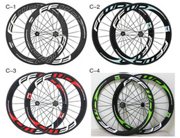 China Oem FFWD 50mm Ruedas de carretera de carbono Wheelset Clincher / Tubular Matte / Ruedas de bicicleta brillante muchos colores