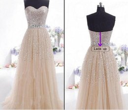 Wholesale 2016 wedding dresses Sexy Anna Campbell Backless Wedding Ball Gowns Cheap Beach Wedding Dresses Beads Capped Sleeves Vintage women clothes