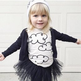 Wholesale 2016 pieces Cute Kid Shirts Boys Tops Shirt Cool Boys Clothes Toddlers Boys Girls Tee Shirts
