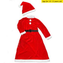 wholesale aos viejo juego de vestido de navidad un juego para nias ropa de santa
