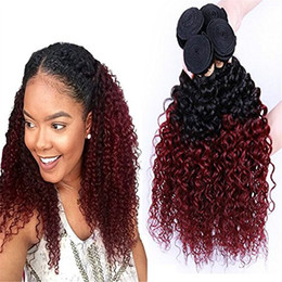 Admirable Discount Brazilian Deep Curly Weave Two Tone 2017 Brazilian Deep Short Hairstyles For Black Women Fulllsitofus