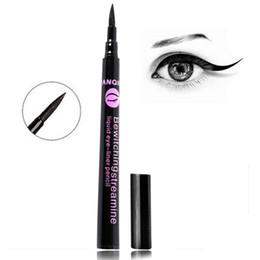 Wholesale 1 Women Lady Black Waterproof Eyeliner Liquid Eye Liner Pen Pencil Makeup Beauty Cosmetic Tools