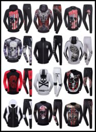 PP Tracksuit Set Sweat Suit Hombres Deportes Casual Philipplein Hombre Chaqueta de chándal Ropa de deporte Sudaderas Mochilas con capucha Mochilas Chicos