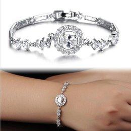 Haute AAA de luxe recommandée zircons incrust¨| Bracelets Bangles Mode chanceux Four Leaf Clover femmes bijoux de mariage kh940