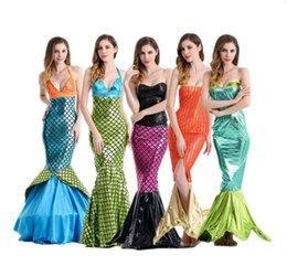 Wholesale Traje de sirena romántica del día de San Valentín vestidos de noche el mar es un hermoso vestido de niña sexy papel femenino