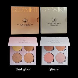 Wholesale 2016 NEW Anastasia Beverly Hills Face Blush Powder Glow Kit Colors Makeup Face Blusher Palette Cosmetic Blush Gleam That Glow