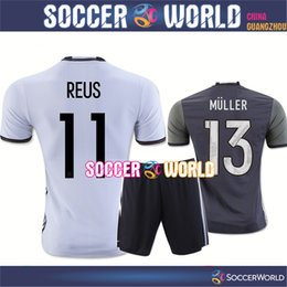 Wholesale New Germany soccer jersey HUMMELS OZIL REUS MULLER KROOS GOTZE Players version jersey Top quality soccer shirts