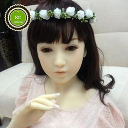 Wholesale 2016 High Quality NEW Real Solid Silicone Sex Dolls Realistic Breast Pussy Full Size Lifelike Silicone Sex Love Doll cm