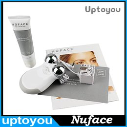 Wholesale Nuface mini facial toning device Beauty Device Face Massager VS Nuface Trinity PRO Newest pink and white