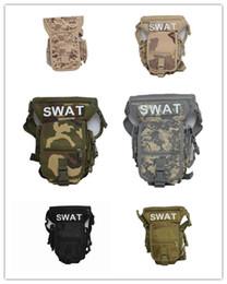 Discount travelling packs Outdoor sports bag waterproof travel bag tactical leg bag riding 2016 Men's Canvas Drop Leg Bag Waist Fanny Pack Belt Hip Bum Tactical Motor