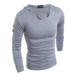 Hooded Long Sleeve T Shirt Sale Online | Hooded Long Sleeve T ...
