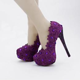 Discount Purple Formal High Heels | 2017 Purple Formal High Heels