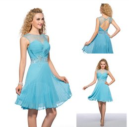 Cheap Blue Rhinestones Homecoming Dresses Online - Cheap Blue ...
