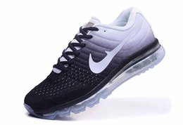 Discount shoes run air max Drop Shipping Max 2017 particular colorway Mesh For Men air cushion Running Sport Trainers Shoes ships out within 2 days
