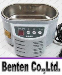 DA-968 220V ou 110V de aço inoxidável dupla 30W / 50W limpador ultra-sônico com exposição limpeza ultra-sônica Máquina LLFA