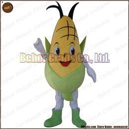 Wholesale Costume de mascotte de maïs la livraison libre adulte bon marché de bande dessinée de mascotte d oreille de peluche de haute qualité acceptent l ordre d OEM