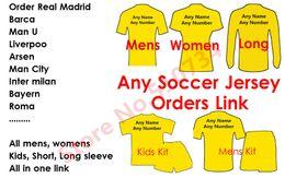 2016 Soccer Jersey Milan camisetas de futbol 2017 Futebol Camisas kids woman tracksuits suéter Linda Soccer Jersey Clientes Order Link