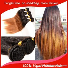 2017 ombre two tone color virgin hair ombre straight hair 5 pcs cheap virgin straight hair peruvian virgin hair 5 bundles ombre 1b 30 two tone human hair weave ombre 3,4,5pcs lot ombre two tone color virgin hair outlet