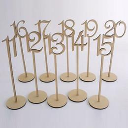 2016 rustique hessian mariage décoration de table numéro de table porte le numéro de table de mariage en bois partie tag support