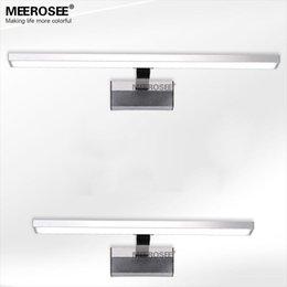 Acrylic Mirror Wall Light Fitting 10watt Led Bathroom Wall Lamp Chrome Modern Wall Lustre Promote Shipping Modern Chrome Bathroom Lighting For Sale