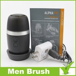 Wholesale Mia8 Skin Care Tools Alpha Fit Men s Cleansing device Microdermabrasion Face Device men facial brush vs Nuface tripollar no hair