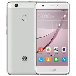 "Discount chinese phone screens Original Huawei Nova 4G LTE Mobile Phone 4GB RAM 64GB ROM MSM8953 Octa Core 5.0"" FHD 1920X1080 Dual SIM Fingerprint"