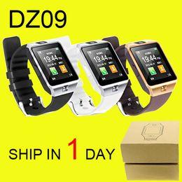 DZ09 montre intelligente GT08 U8 A1 Wrisbrand iPhone Android iwatch Smart SIM montre téléphone mobile intelligent peut enregistrer le sommeil DHL Free OTH110