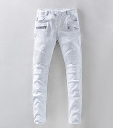 White Jeans For Men Straight Online | White Straight Slim Jeans