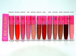 Wholesale HOT NEW JEFFRE STAR VELOUR LIQUID LIPSTICK MATTE OPAQUE NEW IN BOX color ML DHL GIFT