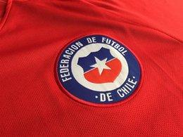 2016, 2017, chile, futebol, jersey, chile, bordado, remendo