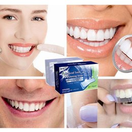 Wholesale Advanced Teeth Whitening Strips Gel Care Oral Hygiene Clareador Dental Bleaching Tooth Whitening Bleach Teeth Whiten Tools DHL Free