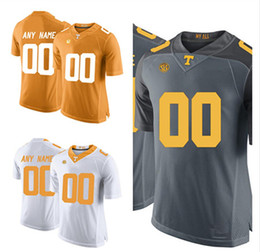 Mens Custom Tennessee Volunteers College Football Jerseys Stitched Women  Youth Tennessee Volunteers Personal Football Jersey Size S-3XL cheap college  ...