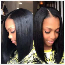 discount middle part short hairstyles black women 2016