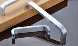 modern furniture pull hand fashion cabinet wardrobe handle space aluminum drawer handle - Modern Furniture Online