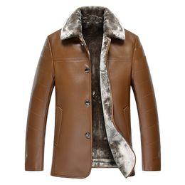 Mens Fleece Lined Leather Jacket Online | Mens Fleece Lined ...