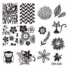 Wholesale New Arrival cm square styles number steel sex image plate stamping printer stamp nail art templates steelseries DIY