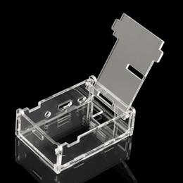 2016 Новые Прозрачный акриловый чехол Корпус компьютера Box Kit для Raspberry Pi